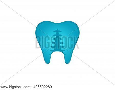 Tooth Enamel Care Dental Vector Design Illustration