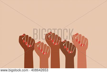 Black Fist People, Brown Power, Black History Month, Female Pride, Black Lives Matter, Feminist Empo