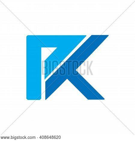 Unique Pk Letter Symbol For Your Best Business. Vector Illustration Eps.8 Eps.10