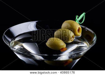 Three Olive Martini Extreem
