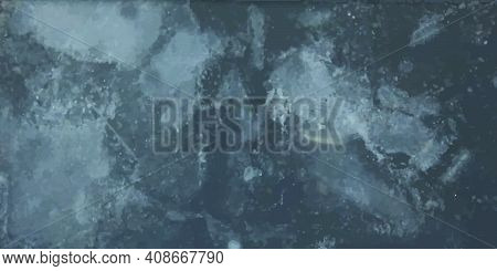 Gray Grunge Background. Ice Texture. Scratched Texture. Concrete, Wall, Vintage. Grunge Abstraction