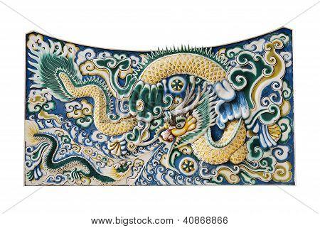 The nice dragon wall