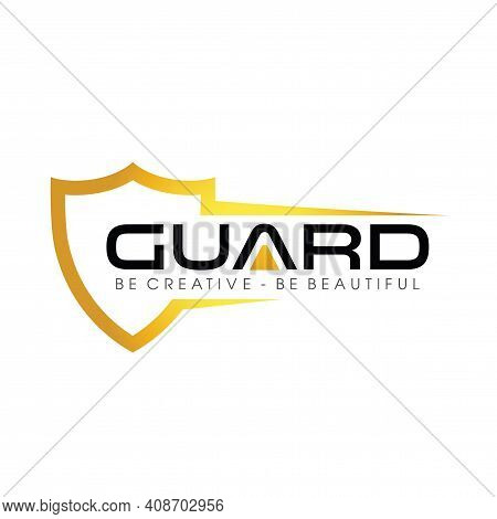 Guard And Shield, Secure, Protection Logo Design Vector