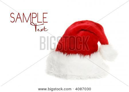 Santa Clause Hat With Copyspace