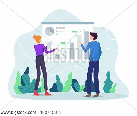 Business Analytic Concept Illustration