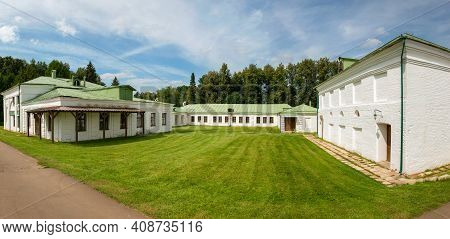 Service Houses In In The Serednikovo Estate In The Moscow Region, A Park-manor Ensemble Of The End O
