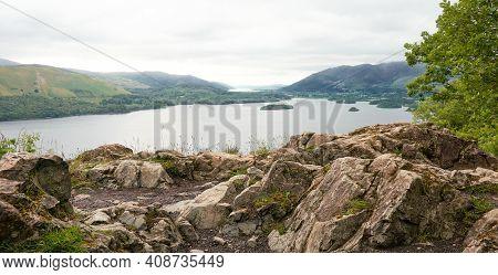 Derwentwater, Lake District, Uk