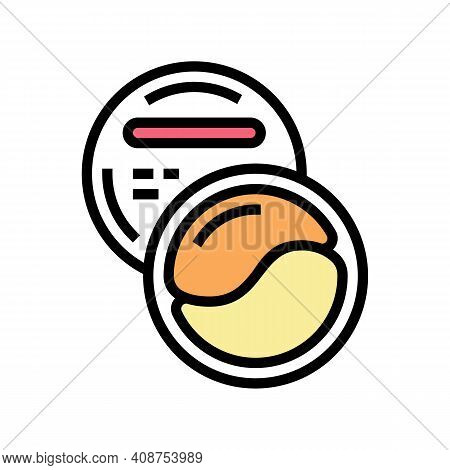 Patches Beauty Accessory Color Icon Vector. Patches Beauty Accessory Sign. Isolated Symbol Illustrat