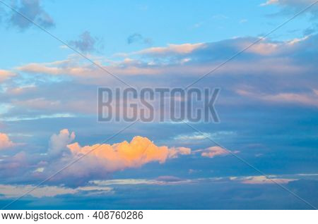 Sunset sky background,picturesque sky,vast sky landscape Sky landscape.Sky background.Dramatic blue sky background,vast sky landscape,sky panoramic scene,sunny sky, sky landscape,sky view