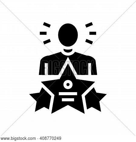 Universal Expert Glyph Icon Vector. Universal Expert Sign. Isolated Contour Symbol Black Illustratio