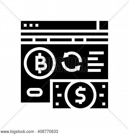 Crowdfunding Ico Glyph Icon Vector. Crowdfunding Ico Sign. Isolated Contour Symbol Black Illustratio
