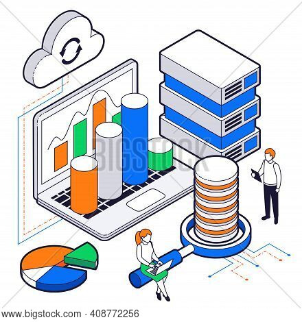 Big Data Analysis Isometric Composition With Young Scientists Using Web Technologies And Cloud Excha