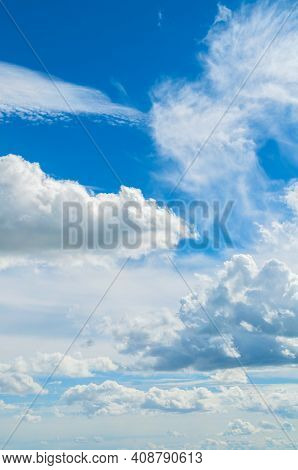 Sky background, sky landscape panoramic scene,  dramatic sky clouds. Sky landscape, sky background. Blue sky background, vast sky landscape scene, sunny sky landscape. Blue sky background, vast sky landscape, sky scene with dramatic clouds