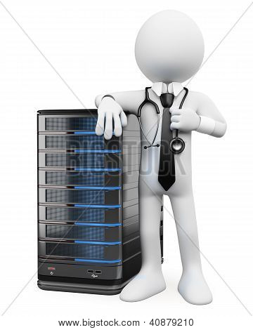 3D White People. System Administrator