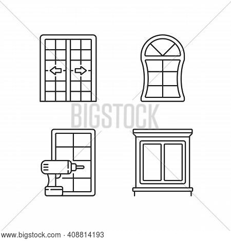 Replacement Door Opportunity Linear Icons Set. Patio Doors. Unique Styles And Features. Decorative T