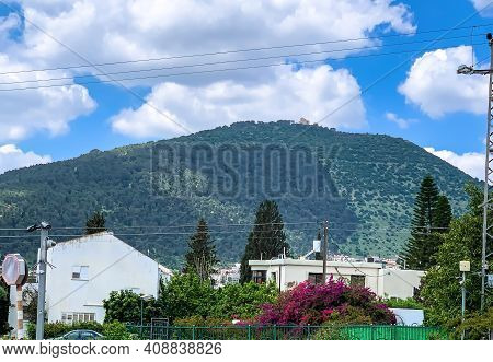 Mount Tabor(har Tavor) Is Located In Lower Galilee, Israel, At The Eastern End Of The Jezreel Valley