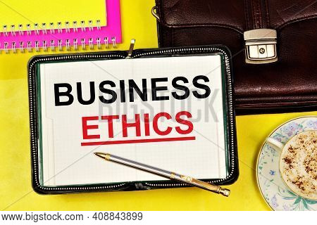 Business Ethics. A Widget To Display Text In Notepad. Settlement Of Moral Problems In The Business E