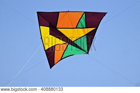 Hyderabad,india-january 13,2020 : Indian Hindus Fly The  Kite During Harvest Festival Sankranti Or P