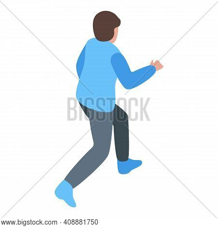 Street Physical Activity Icon. Isometric Of Street Physical Activity Vector Icon For Web Design Isol