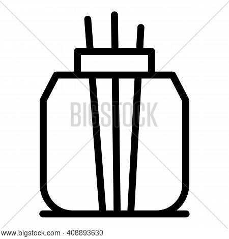Aromatherapy Air Freshener Icon. Outline Aromatherapy Air Freshener Vector Icon For Web Design Isola