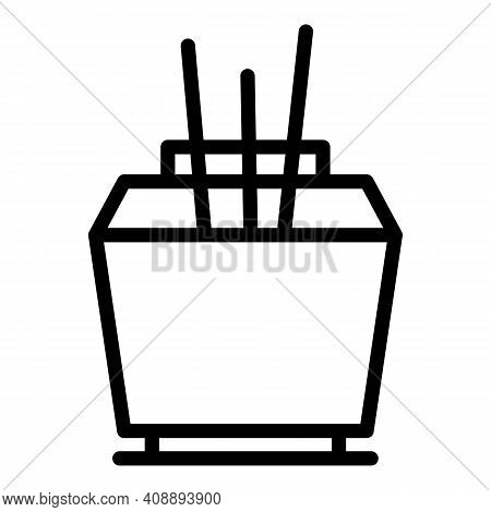 House Air Freshener Icon. Outline House Air Freshener Vector Icon For Web Design Isolated On White B