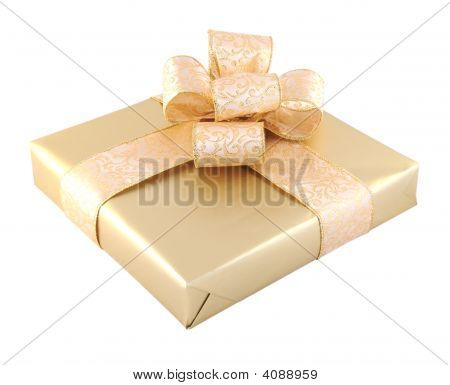 Gift Box Isolated