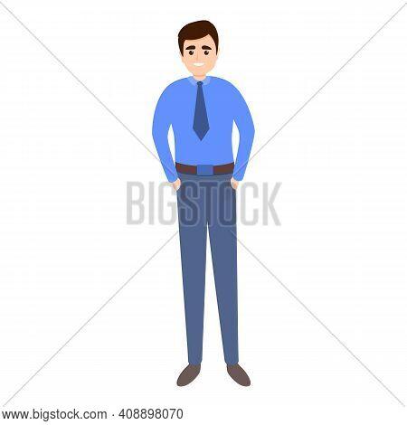 Employee Metropolitan Icon. Cartoon Of Employee Metropolitan Vector Icon For Web Design Isolated On