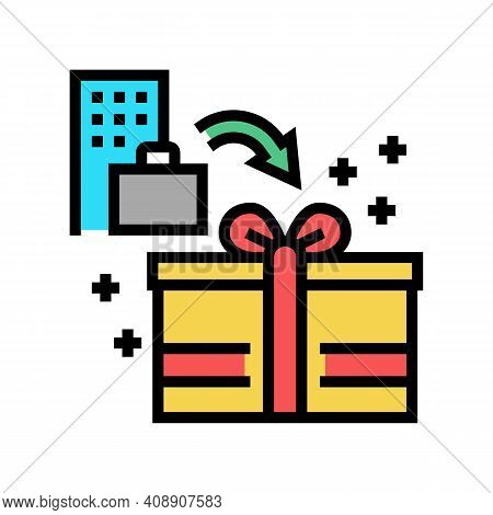 Bonuses And Gifts Benefits Color Icon Vector. Bonuses And Gifts Benefits Sign. Isolated Symbol Illus