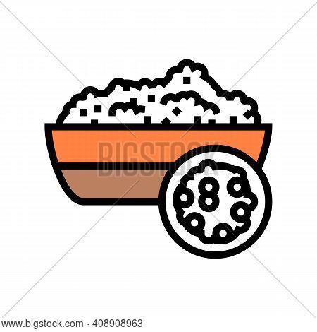 Quinoa Groat Color Icon Vector. Quinoa Groat Sign. Isolated Symbol Illustration