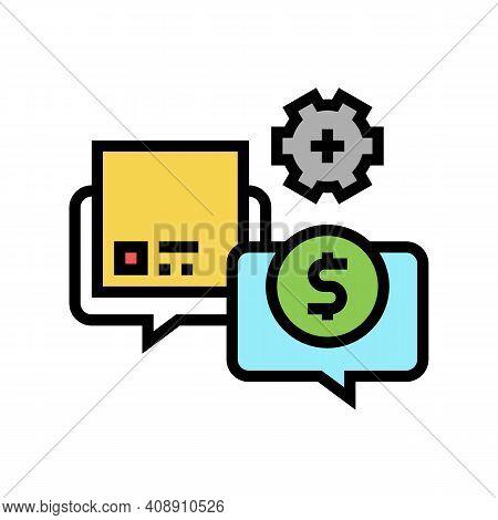 Procurement Process Color Icon Vector. Procurement Process Sign. Isolated Symbol Illustration