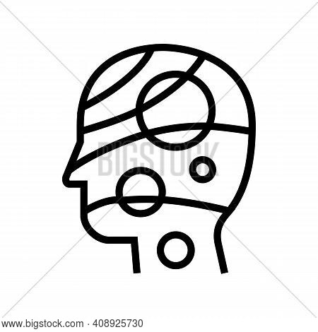 Universe Philosophy Line Icon Vector. Universe Philosophy Sign. Isolated Contour Symbol Black Illust