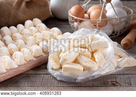 Frozen Lazy Dumplings, Cottage Cheese