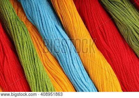 Colored Threads For Embroidery Background  Threads For Embroidery