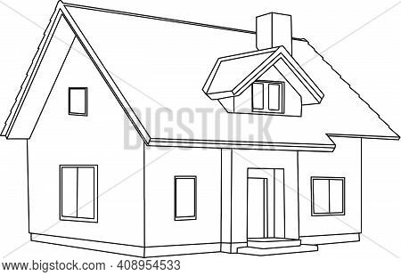 Single House Project With Attic Single House Project With Attic