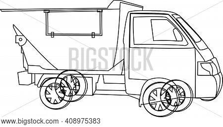 Small Van For Municipal Waste Disposal Small Van For Municipal Waste Disposal