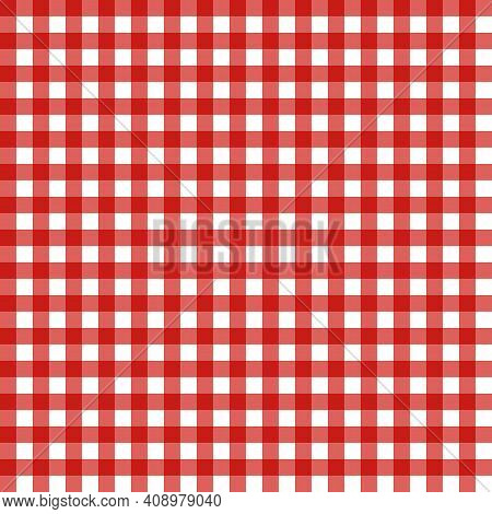 Vector Abstract Seamless Pattern. The Vichy Cage.