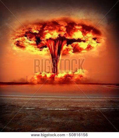 Modern Nuclear Bomb Explosion
