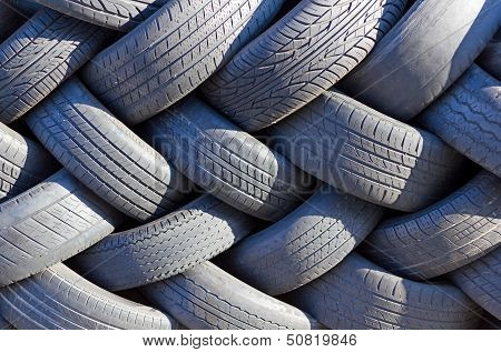 Wall Of Tires.