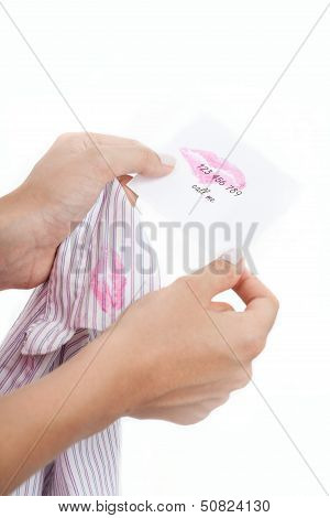 Wife Finds A Note From Husband's Lover