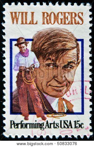 Usa - Circa 1979 - Stamp Printed In Usa Showing William Penn Adair