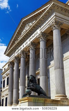 Spanish Congress Of Deputies At Madrid