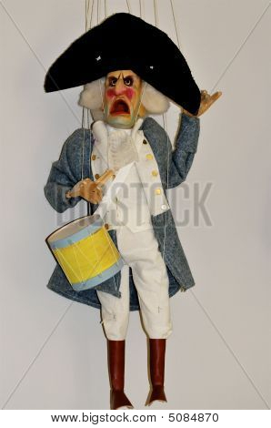 Old French Military Puppet