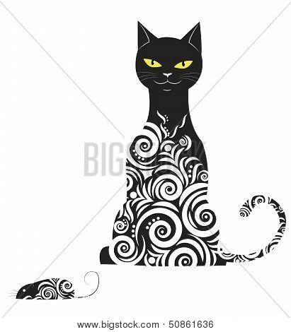 Ornamental cat