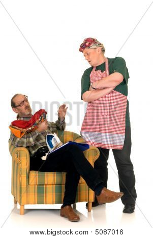 Housewife With Lazy Husband