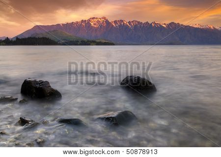 The Remarkables, Queenstown, South Island, New Zealand.