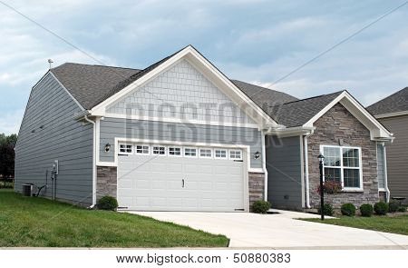 Condo with Two-car Garage
