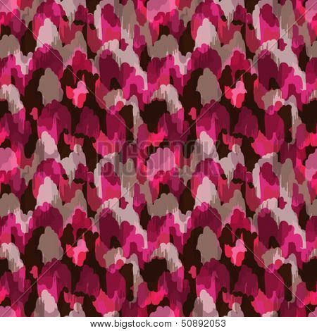 Abstract modern stylish pink animal seamless web or fabric pattern