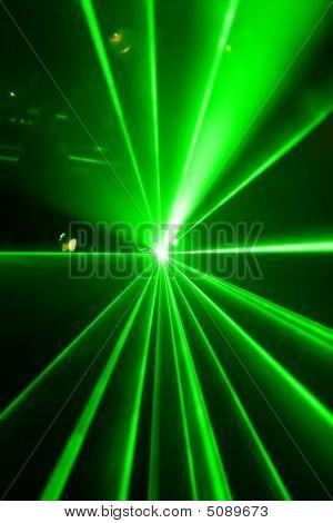 grüne Laser-licht