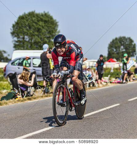 The Cyclist Cadel Evans