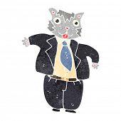 fat cat banker cartoon poster